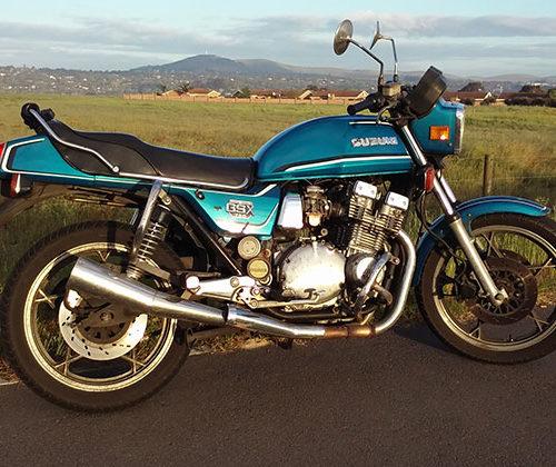 Ruan's Legendary 1984 GSX750