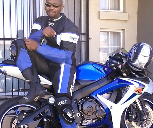 Geoff and his GSX-R600
