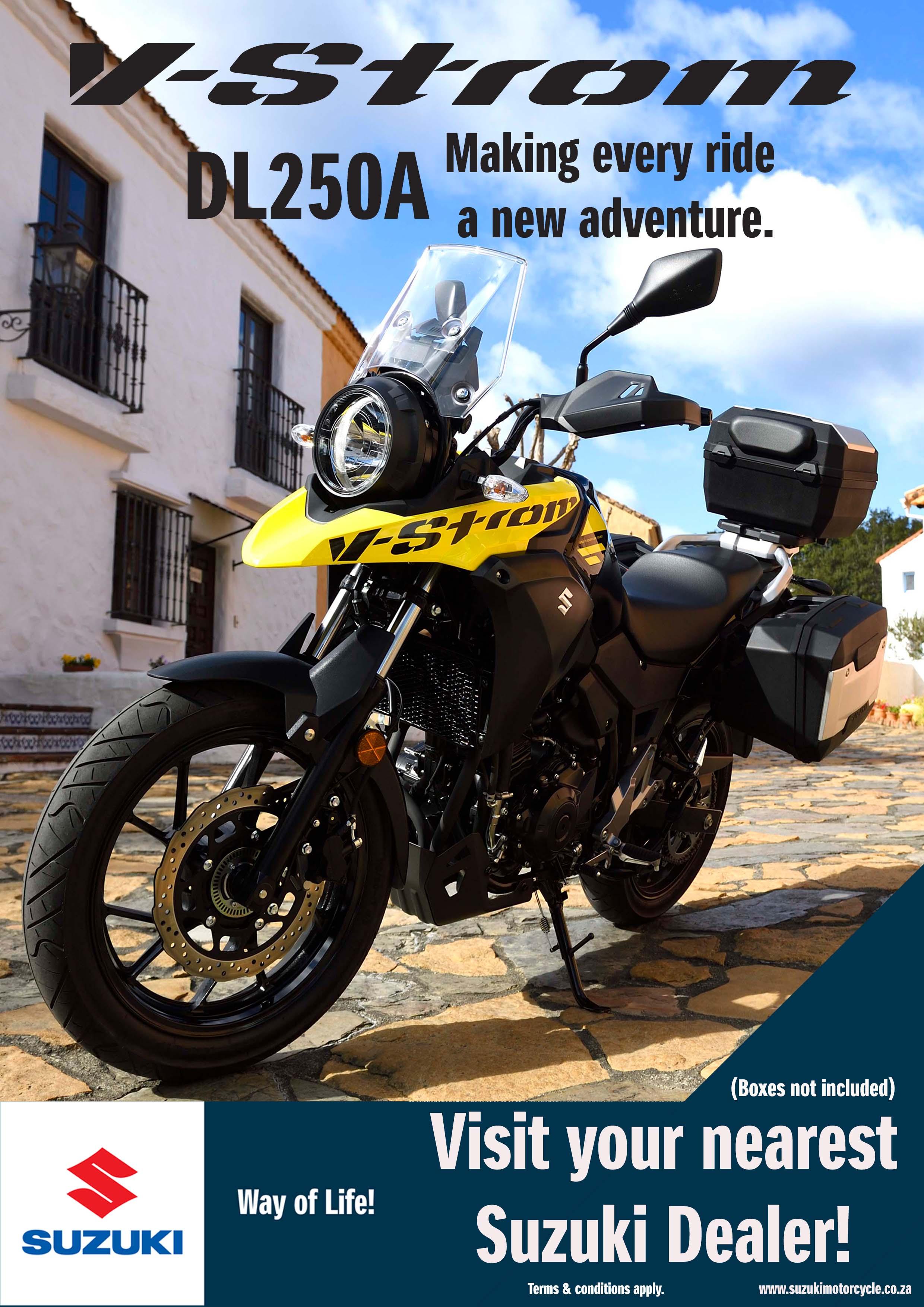 Suzuki DL250A – Making Every Ride a New Adventure
