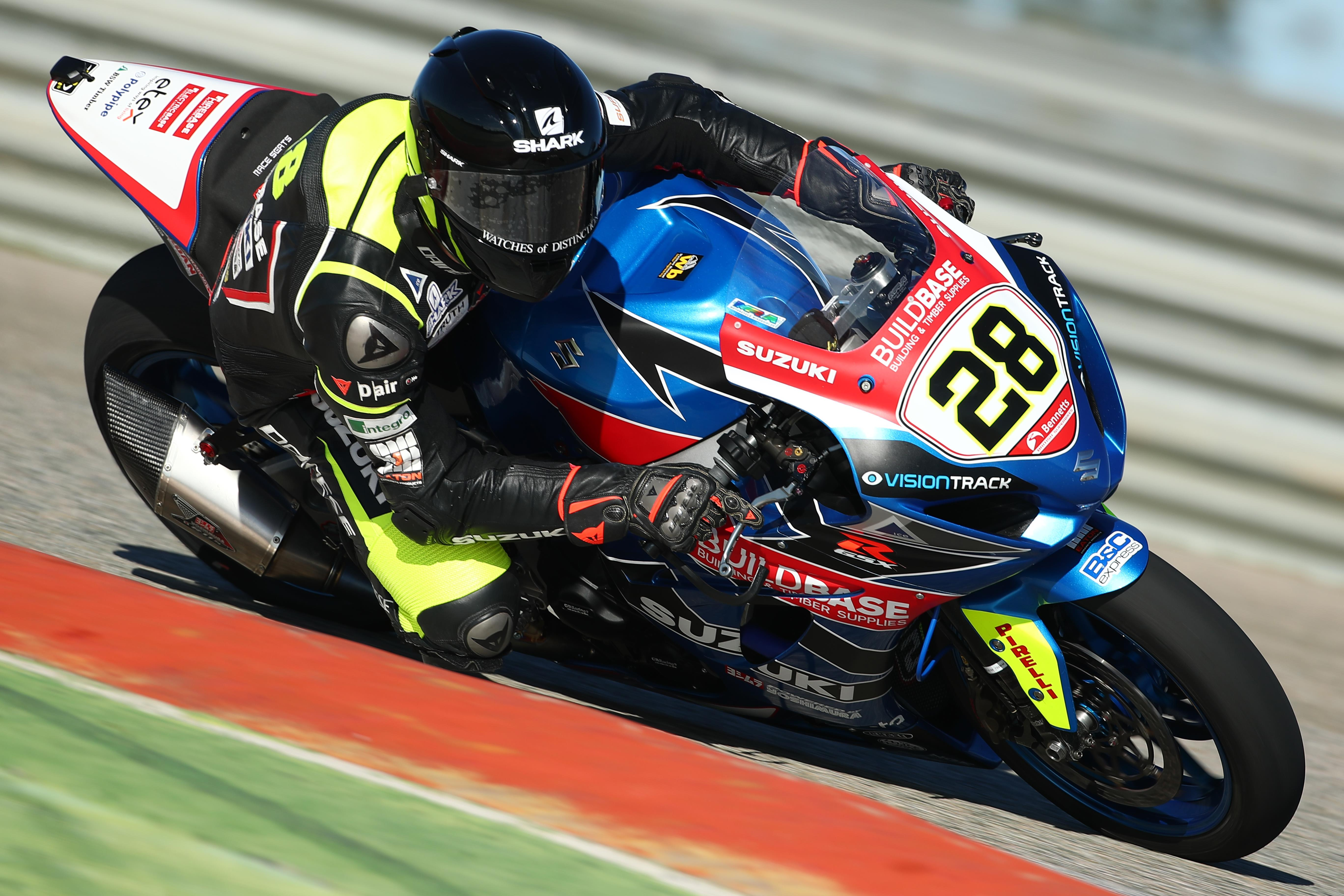 New Buildbase Suzuki BSB Team Concludes Spanish Test