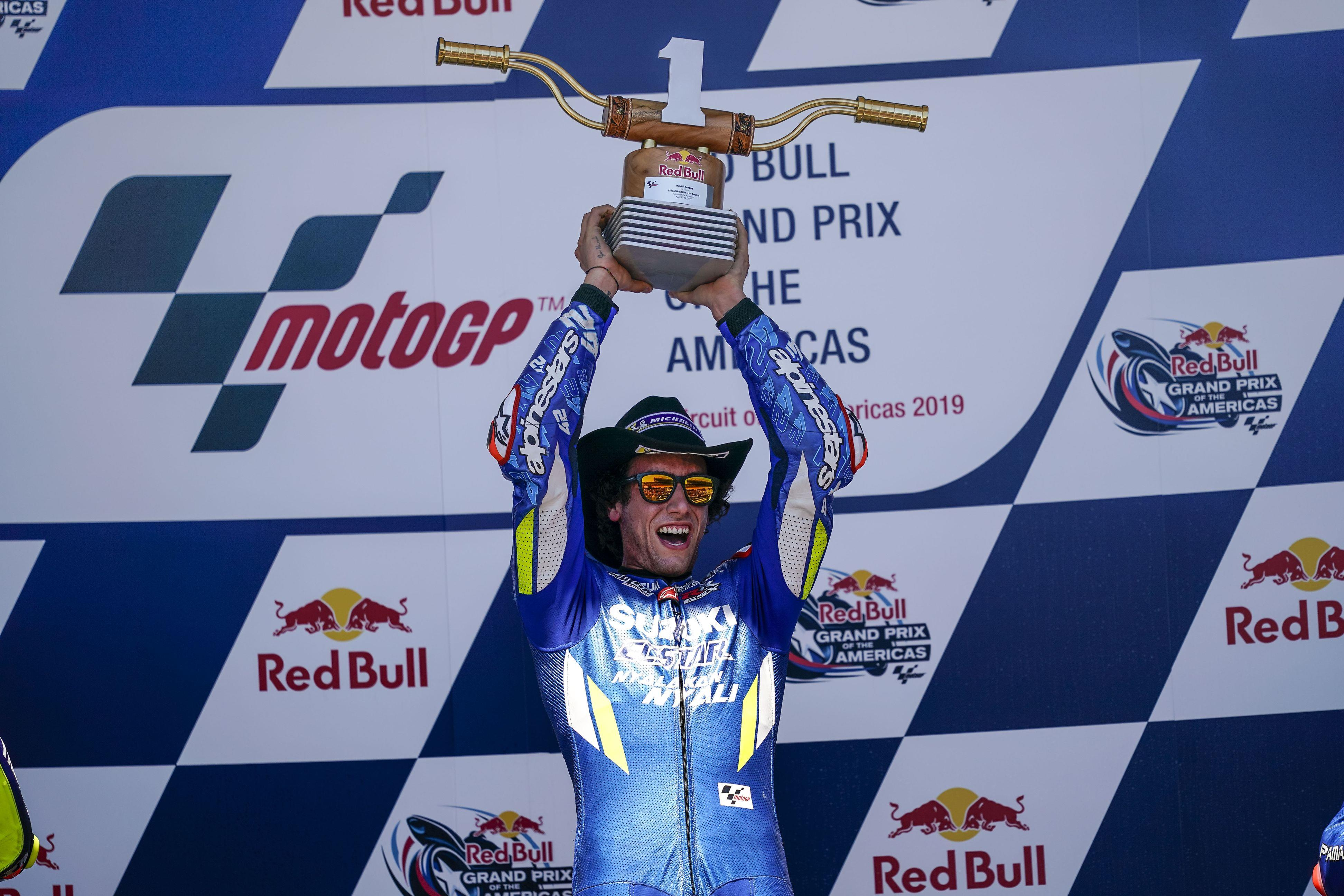 Brilliant RINS Wins His First MOTOGP Race In Texas