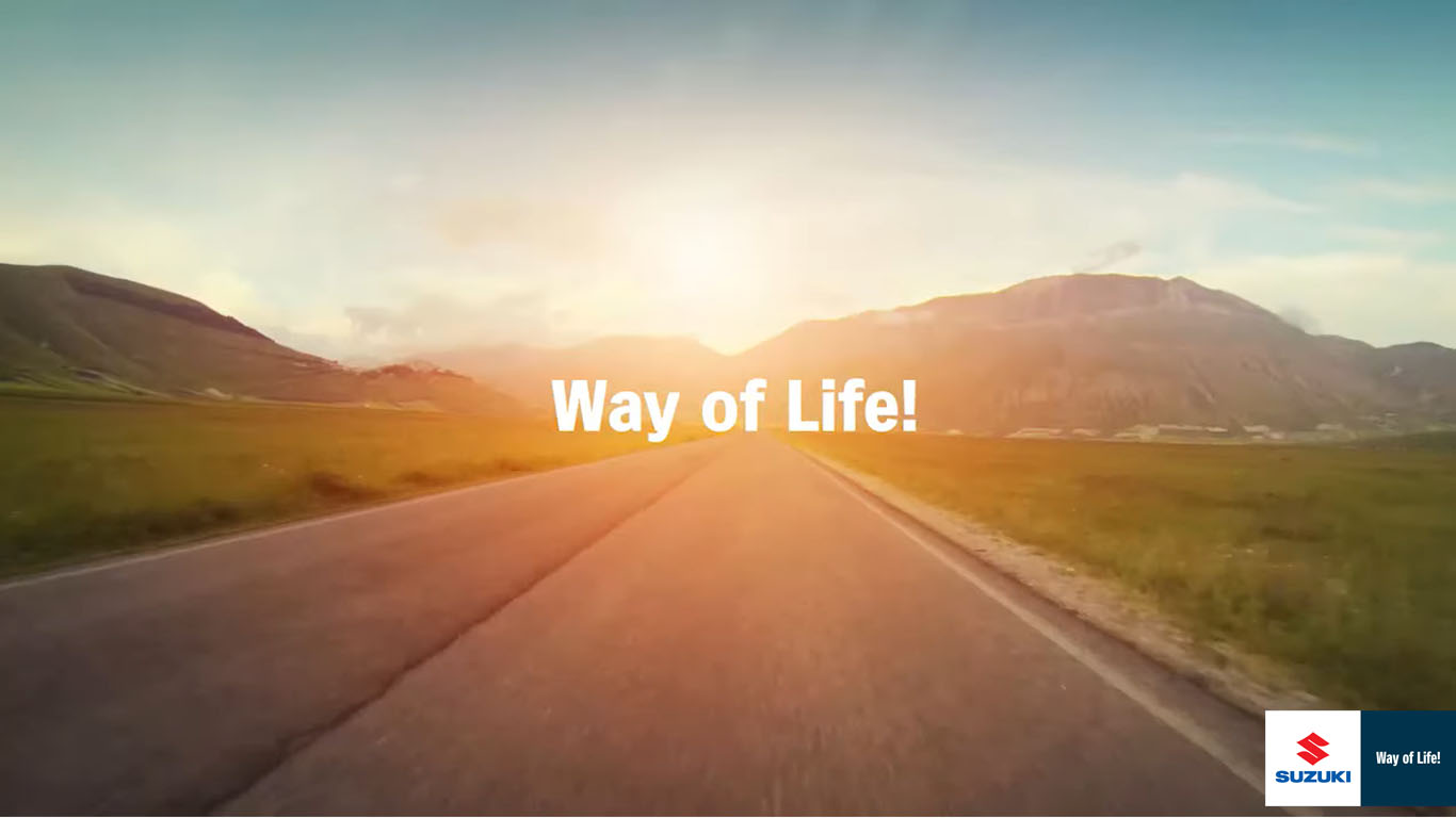 Suzuki Way Of Life Brand Movie!