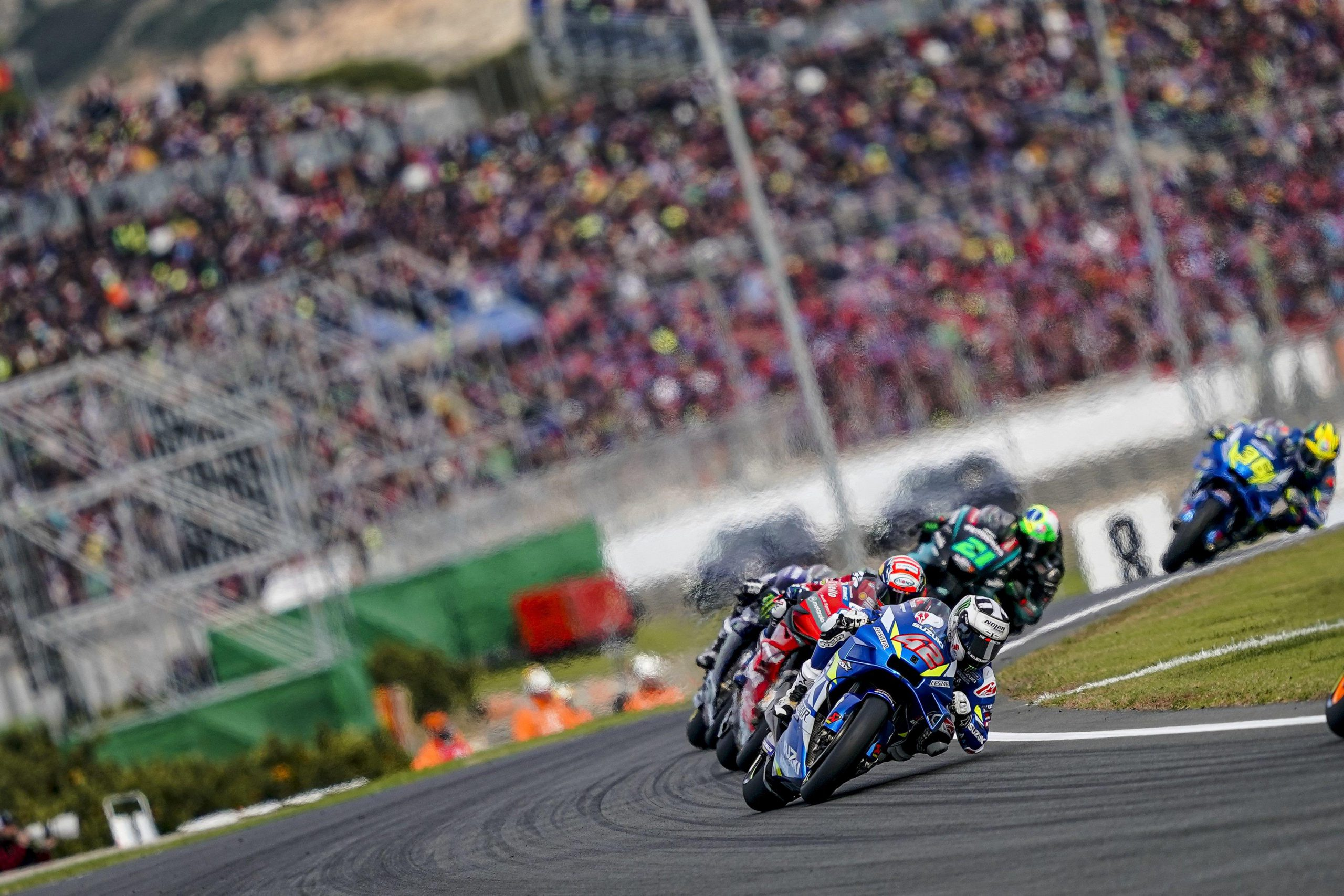 Team Suzuki ECSTAR Closes Valencia MotoGP With 5th & 7th