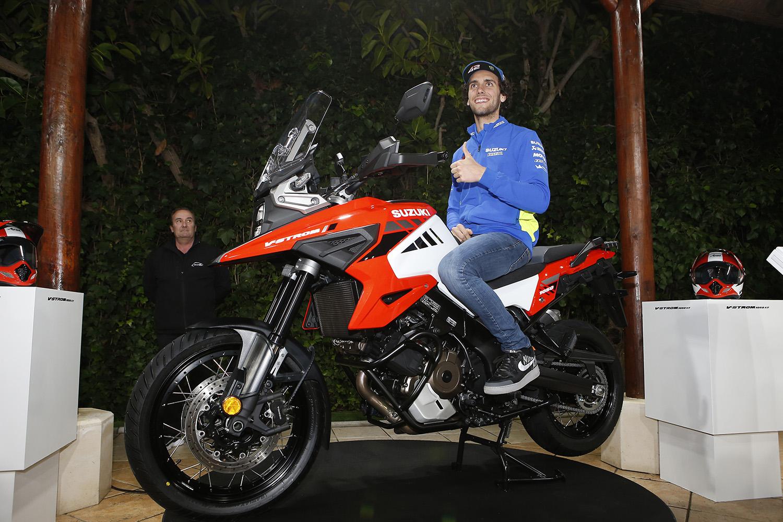 Alex RINS Joins Suzuki's World Test Ride In Spain