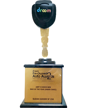 DROOM PRE-OWNED AUTO AWARDS