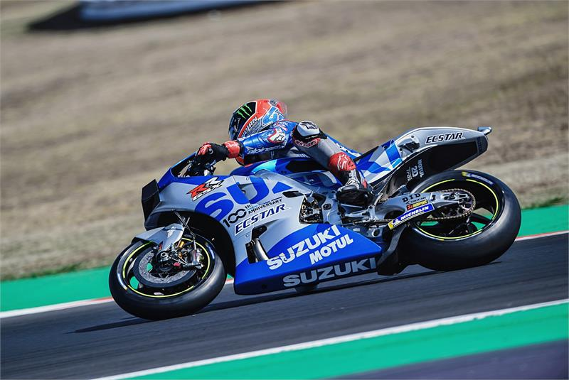Suzuki Riders  Secure Seventh And Eighth For SAN Marino GP