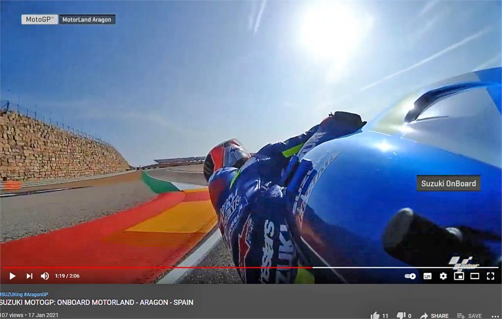 Suzuki Ecstar Motorland Aragon Onboard Video