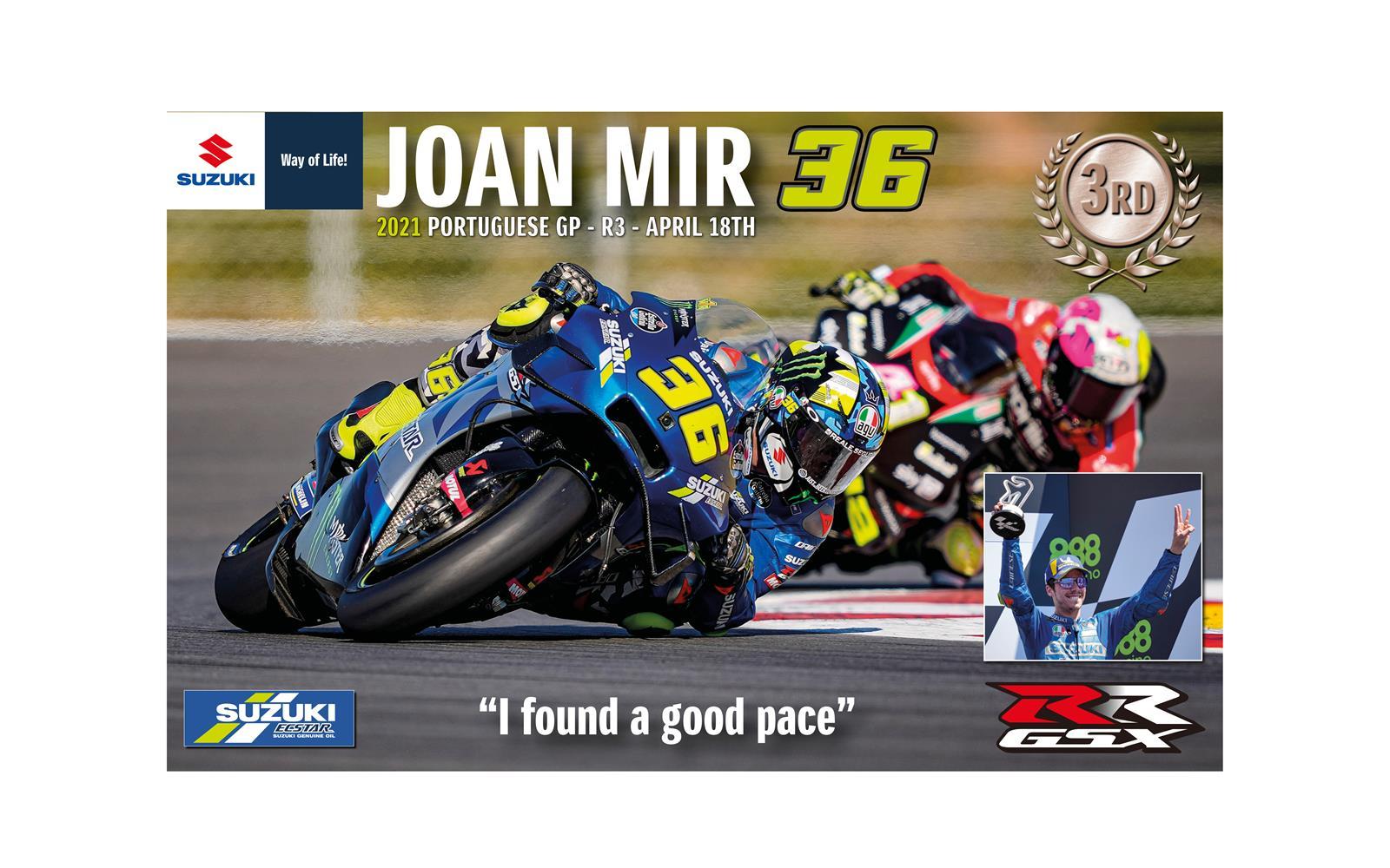 Joan MIR Suzuki Wallpaper Online