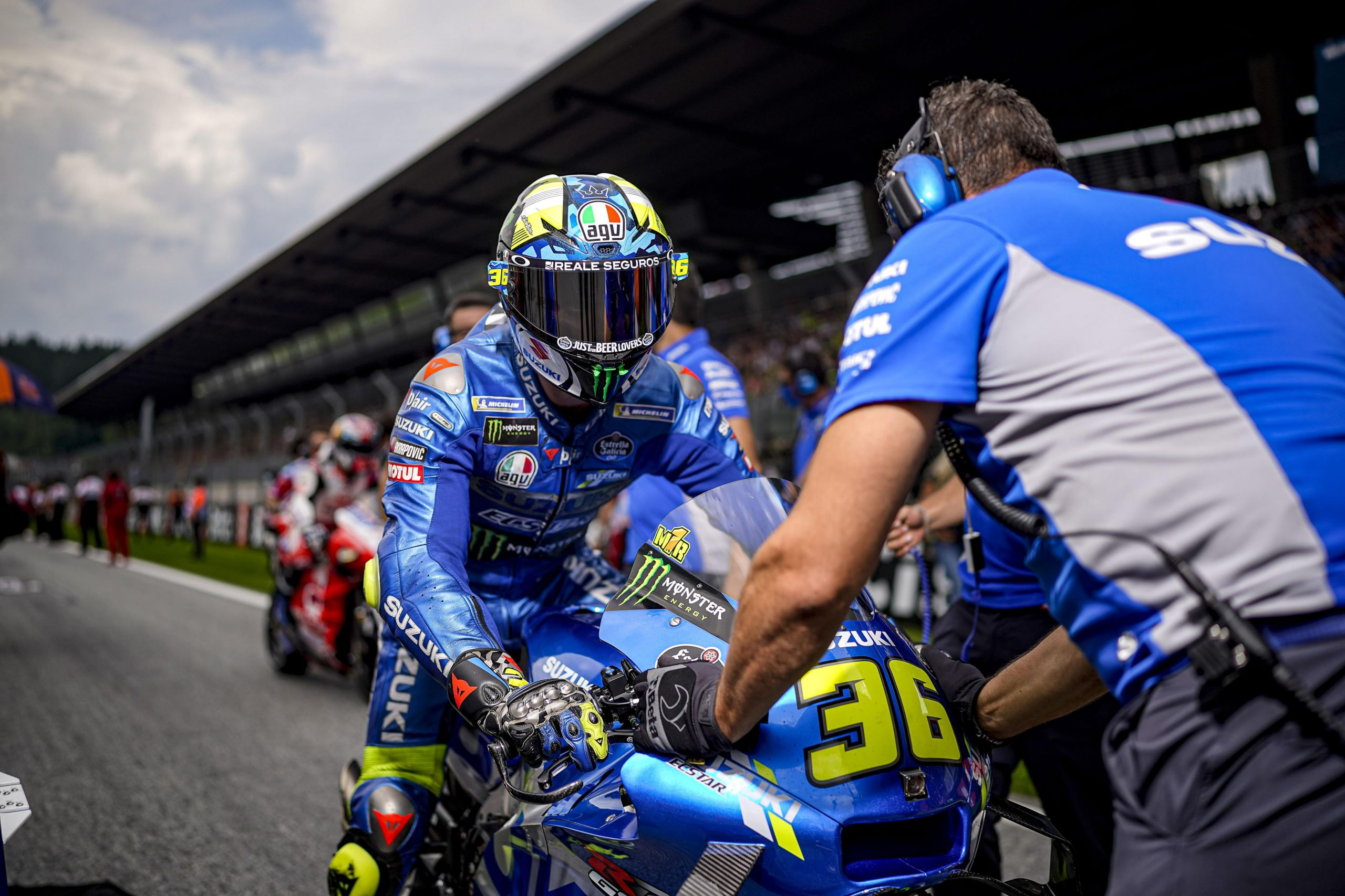 MIR TAKES FOURTH IN TUMULTUOUS AND TRICKY AUSTRIAN GP